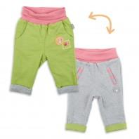 Двусторонние штанишки для малышки