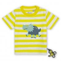 Эластичная футболка sigikid, коллекция Спортсмен Дино baby