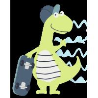 Спортивный Динозавр