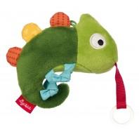 Игрушка-хваталка для малыша sigikid, Хамелеон, коллекция Красные Звезды