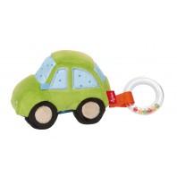 Развивающая мягкая игрушка sigikid, Зеленая машина, коллекция Папа & Я