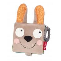 Развивающая мягкая книжка-игрушка sigikid, Кролик в лесу, коллекция Конфетки