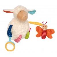Развивающая мягконабивная игрушка  sigikid, Овечка, коллекция PlayQ
