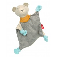Мягконабивная игрушка sigikid, Медвежонок комфортер, Золотая коллекция