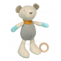 Мягконабивная игрушка sigikid, Музыкальный Мишка, Золотая коллекция