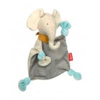 Мягконабивная игрушка sigikid, Слоник комфортер, Золотая коллекция