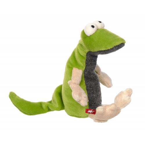 Мягконабивная игрушка sigikid, Зеленый Ящер из семейки Плюшевых Гаджетов