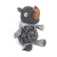 Коллекционная игрушка Зверский Город, Носорог СОСО