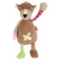 Мягконабивная игрушка sigikid,   Медведица   Лоскутки