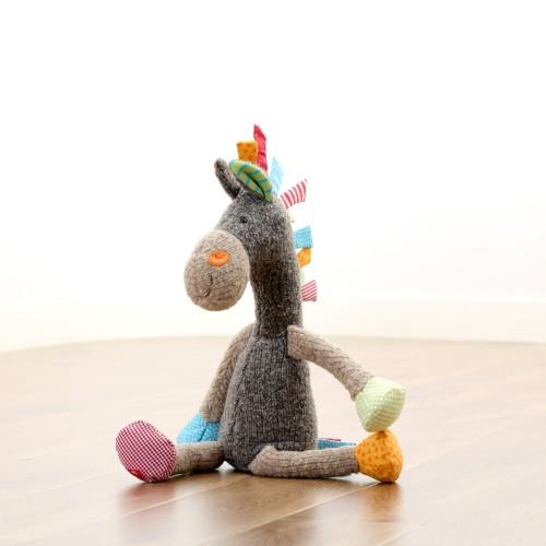 Мягконабивная игрушка sigikid, Лошадь  Лоскутки