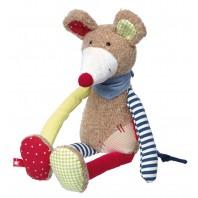 Мягконабивная игрушка sigikid, Мышка  Лоскутки
