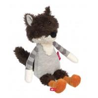 Мягконабивная игрушка sigikid,  Волк,  коллекция Лоскутки