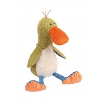 Мягконабивная игрушка sigikid, Силли Дак от Сандры Бойтон ,  коллекция Лоскутки