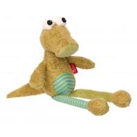 Мягконабивная игрушка   sigikid,  Глазастый Крокодил, Коллекция Лоскутки