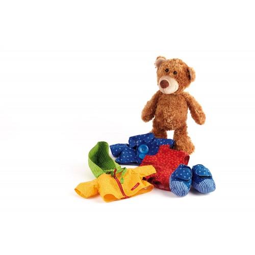 Развивающая мягконабивная игрушка   sigikid, Медвежонок