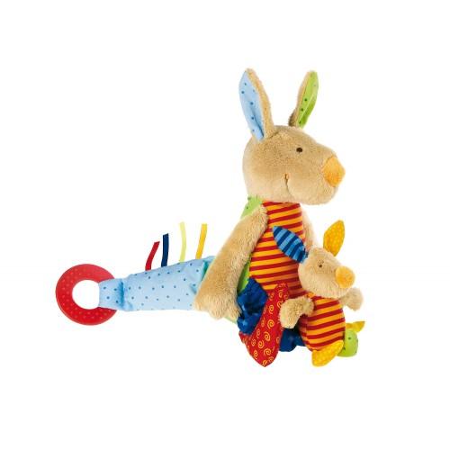 Развивающая мягконабивная игрушка   sigikid Кенгуру