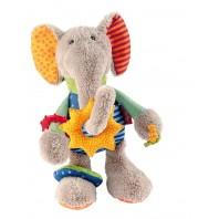 Развивающая мягконабивная игрушка   sigikid Слоник