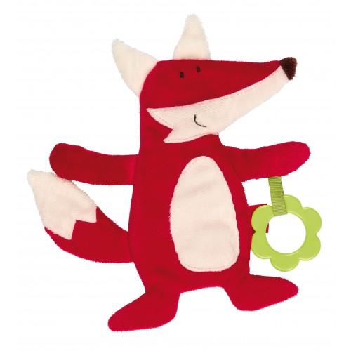 Мягконабивная игрушка sigikid, шуршащая лисичка, коллекция Классик