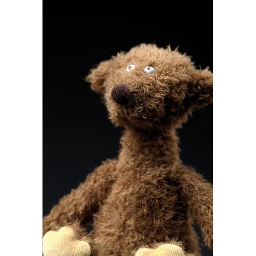 Мягконабивная игрушка sigikid, Маленький коричневый мишка АПЧХИ!