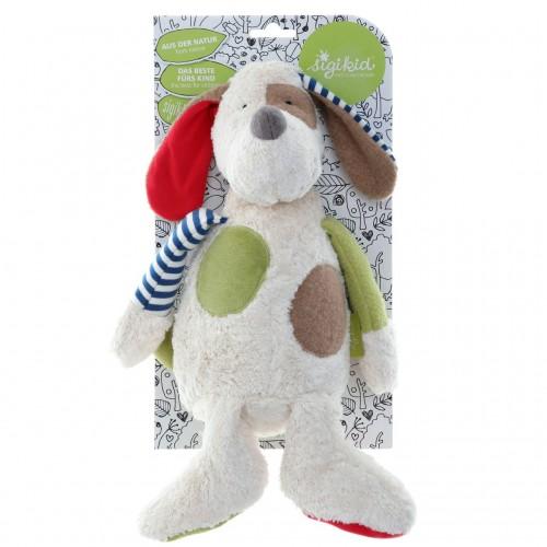 Мягконабивная игрушка sigikid, Собачка, Зеленая  коллекция