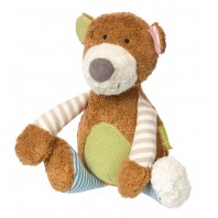 Мягконабивная игрушка sigikid, Медвежонок, Зеленая коллекция