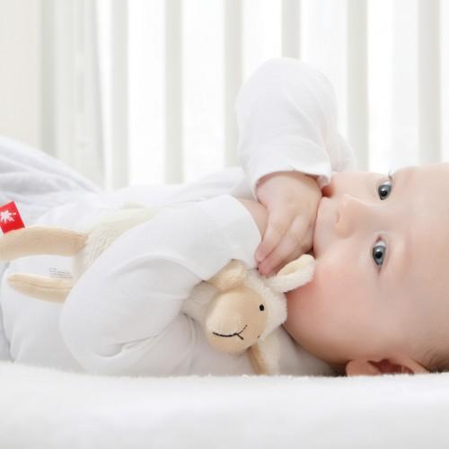 Мягконабивная игрушка sigikid, Малыш овечка, коллекция Плюшевые Гаджеты