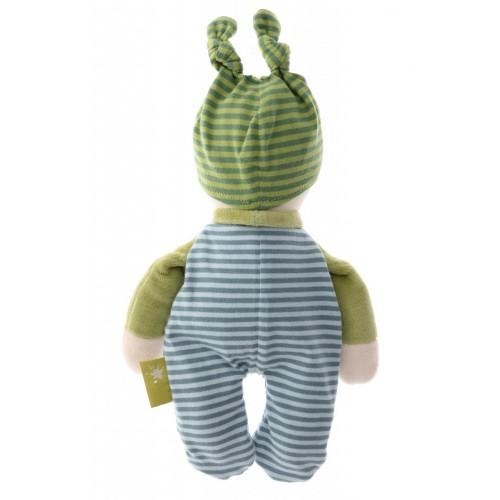 Мягконабивная игрушка sigikid, кукла мальчик, Зеленая коллекция