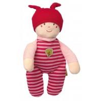 Мягконабивная игрушка sigikid, кукла девочка, Зеленая коллекция