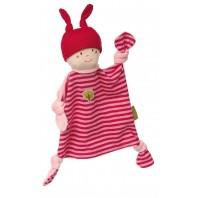 Мягконабивная игрушка sigikid, кукла комфортер розовый, Зеленая коллекция