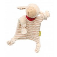 Мягконабивная игрушка sigikid, комфортер Овечка, Зеленая коллекция