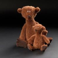 Мягконабивная игрушка   sigikid, Медвежонок АПЧХИ! Коричневый маленький