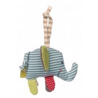 Мягконабивная игрушка sigikid, Слоник, Зеленая коллекция