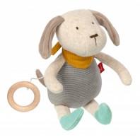 Мягконабивная игрушка sigikid, Музыкальный Песик, Золотая коллекция