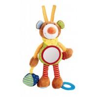 Развивающая мягконабивная игрушка  sigikid, Мишка, коллекция Активный Малыш