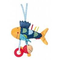 Развивающая мягконабивная игрушка  sigikid, Рыбка, коллекция Активный Малыш