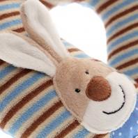 Мягконабивная игрушка sigikid, Зайчик подушка под шею, коллекция Классик