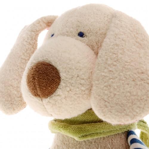 Мягконабивная игрушка sigikid, Музыкальная Собачка, Зеленая коллекция