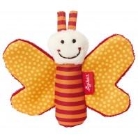 Игрушка-хваталка для малыша sigikid, Оранжевая Бабочка, коллекция Красные Звезды