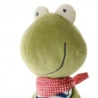 Мягконабивная игрушка sigikid, комфортер Лягушка, Зеленая коллекция