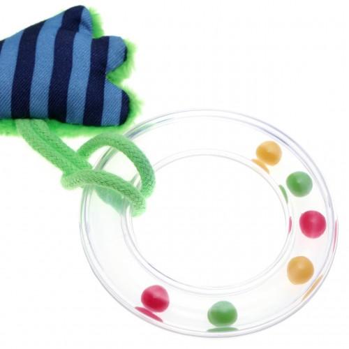 Мягконабивная игрушка sigikid, шуршащий крокодил, коллекция Классик