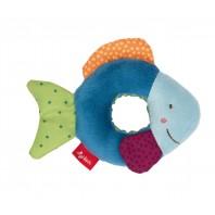 Игрушка-хваталка для малыша sigikid, Рыбка, коллекция Красные Звезды