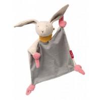 Мягконабивная игрушка sigikid, Кролик комфортер, Золотая коллекция