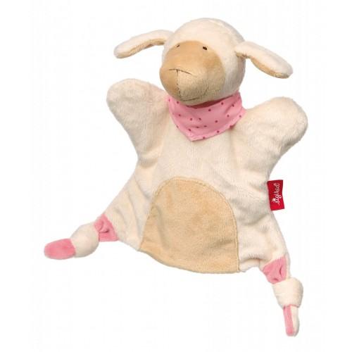Мягконабивная игрушка sigikid, комфортер кукольный театр Овечка, коллекция Классик
