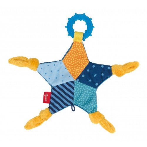 Мягконабивная игрушка sigikid, шуршащая Голубая Звезда, коллекция Классик