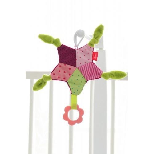 Мягконабивная игрушка sigikid, шуршащая Розовая Звезда , коллекция Классик