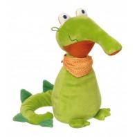 Мягконабивная игрушка sigikid, Крокодил Очки Спят, коллекция Плюшевые Гаджеты