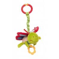 Развивающая мягконабивная игрушка  sigikid, Бабочка с клипсой, коллекция Активный Малыш