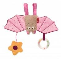 Мягконабивная игрушка sigikid, розовая Летучая Мышь, коллекция Городские Дети