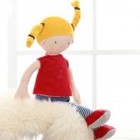 Мягконабивная игрушка sigikid, тряпичная кукла блондинка
