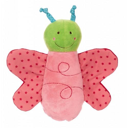 Развивающая мягконабивная игрушка   sigikid Гусеница перевертыш